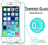 Film de protection d'ecran en verre trempe premium pour Iphone 5/5C/5S