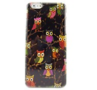 Cute Owl Plastic Hard Back Cover for iPhone 6