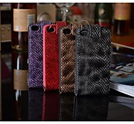 Fashion® Ultra Thin Design Geniune Leather case for iphone 4/4S (Assorted Colors)