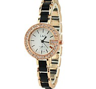 Montre Tendance Alliage Bande Bracelet Montre