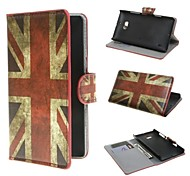 UK Flag Pattern PU Leather Cover Case with Stand and Card Slot for Nokia Lumia 930