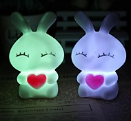 Coway Love Mi Rabbits Colorful LED Nightlight Lamp