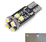 T10 Car Auto 8x3528SMD 50LM DC 12V White Warm White Light (2 piece)
