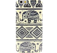 Elephant Pattern Silicone Soft Cover and Mini Diaplay Stand for iPhone 6/6S