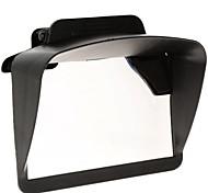 """pala de sol sombra de plástico universal para 4.3 """"5"""" navegadores GPS do carro da polegada"""
