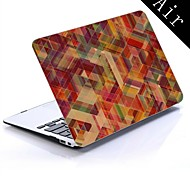 Square Design Full-Body Protective Plastic Case for 11-inch/13-inch New Mac Book Air