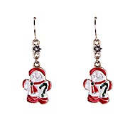 Drop EarringsJewelry Alloy / Rhinestone / Enamel Party / Daily / Casual / Sports