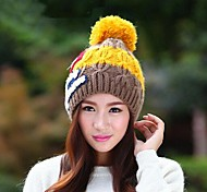 Women Knitwear/Wool Blend Beanie/Slouchy , Casual Winter