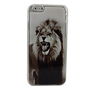 Cool Lion Plastic Hard Back Cover for iPhone 6