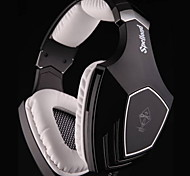 SADES OMG USB Gaming Headphone with Mic and Remote Control for PC 7.1 Sound Effect Over-Ear