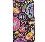 Cute Microorganism Pattern PU Leather Full Body Cover with Stand for HTC Desire 610