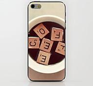 cas dur de modèle de basse en bois pour iPhone 6