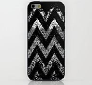 Black Corrugated Pattern hard Case for iPhone 6