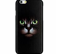 Black Cat Pattern PC Hard Back Cover Case for iPhone 6