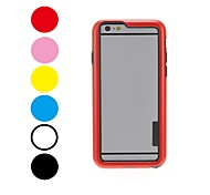 Kinston Rainbow Series Superior Quality Pattern Color Frame Case for iPhone 6 (Assorted Colors)