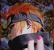 Parrucche Cosplay Naruto Cosplay Arancione Corto Anime Parrucche Cosplay 35 CM Tessuno resistente a calore Uomo