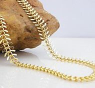 Banhados a ouro 18k luxo centopéia colar de cobre