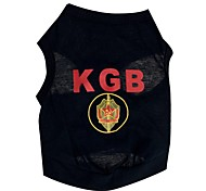 Cool KGB Pattern 100% Cotton Vest for Pets Dogs (Assorted Sizes)