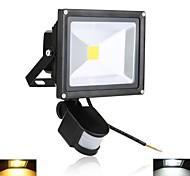 20 W 1 High Power LED 2000 LM Warm White/Cool White Sensor Flood Lights AC 85-265 V