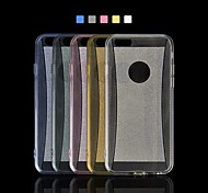 Angibabe TPU Clear Shimmering Powder Phone Case for iPhone 6 Case 4.7 inch(Assorted Colors)