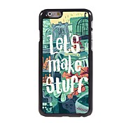 Let's Make Stuff Pattern Aluminum Hard Case for iPhone 6