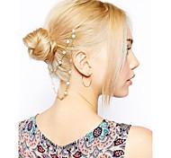 Fashion Flower Daisy Mini Cute Flower Crown Hair Comb Tassel Head Chain Hair Jewelry Hair Accessories