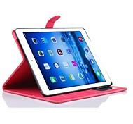 classique mince folio ajustement pu étui en cuir pour iPad Air 2 (aoosrted couleurs)