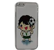 Soccer Kid Plastic Hard Back Cover for iPhone 6