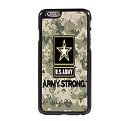 US ARMY Design Aluminum Hard Case for iPhone 6 Plus