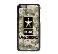 cas dur de l'armée américaine design en aluminium pour l'iphone 6