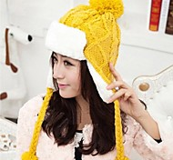 Women Knitwear Trapper Hat , Cute/Casual Winter