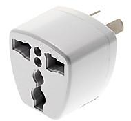 UK / US / EU universal 3 Pin-Stromstecker Universaladapter Reiseadapter au