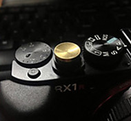 konkaven professionellen Kameraauslösetaste (3 Stück, rot + gelb + silber)