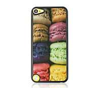 Eight Macarons Cake Pattern Plastic Hard Case for ipod touch 5