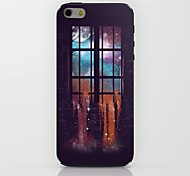 Fantastic Scenery Outside The Window Pattern hard Case for iPhone 6
