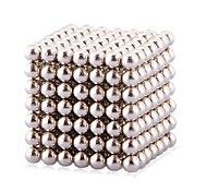 Buckyball Magnet Toys 216Pcs 3mm Executive Toys Magic Magnet DIY Balls Magnetic Balls Cube Puzzle Silver