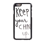 Chin Up Design Aluminum Hard Case for iPhone 6 Plus