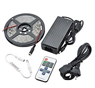 90w 7500lm 300x5630 SMD LED luz branca morna LED Light Strip kits (DC 12V)