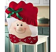 Papai Noel cadeira mesa da cozinha cobre 70 * 51 centímetros