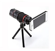 Full Metal 4X~12X Zoom Lens w/ TrIpod Mount + Back Case for iPhone 6 4.7 Inch