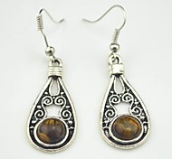 Drop EarringsJewelry Brown Alloy Party / Daily