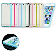 Frosted TPU Bumper Case for iPhone 6 (Assorted Colors)