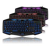 rajfoo bacurau jogos multimídia edição Ruiz teclado cor tricolor luminosa