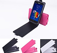 Hot Sale 100% PU Leather Flip Leather Up and Down Case for Lenovo A606(Assorted Color)