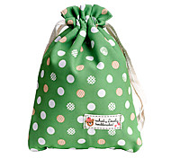 Fenchii Green Polka Dot Cloth Bag for Sony A7r/A6000/NEX6