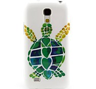 A Turtle Pattern TPU Soft Back Cover for Samsung Galaxy S4Mini l9190