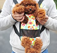 Cat / Dog Front Backpack Pet Baskets Portable Multicolor Fabric