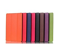 8 Inch Triple Folding Pattern High Quality PU Leather for Lenovo Tab S8-50(Assorted Colors)
