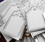 Fashion Silver Paper Display Price Tags (Silver)(500pcs)