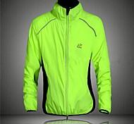 WEST VÉLO® Veste de Cyclisme Homme Manches longues Vélo Respirable / Pare-vent / Bandes RéfléchissantesCoupe-vent / Veste / Vêtement Pour